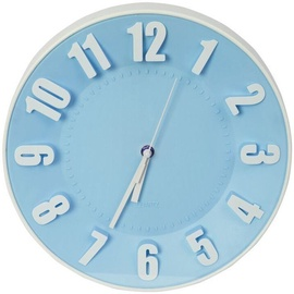 Platinet Today Wall Clock 42990 Blue