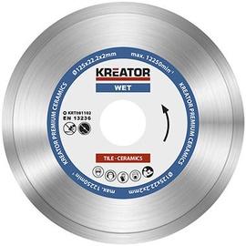 Kreator KRT081102 125x22.2mm Diamond Disc