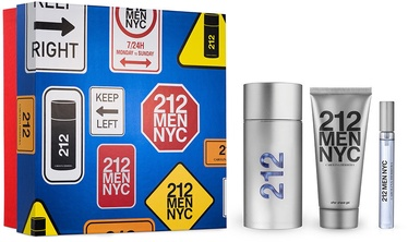 Набор для мужчин Carolina Herrera 212 NYC Men 3pc Set 210ml EDT