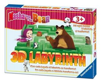 Lauamäng Ravensburger Game Masha And The Bear 3D Labyrinth 21180