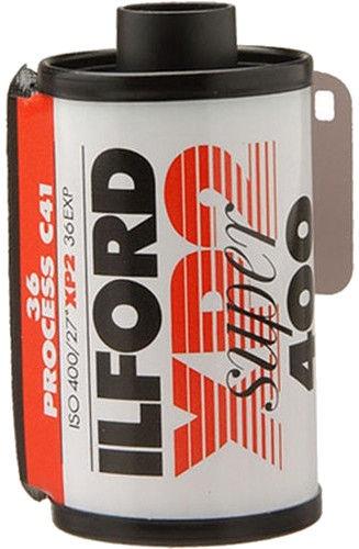 Ilford XP2 Super Black And White Negative Film 35mm