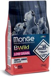 Monge BWild Puppy & Junior All Breeds Dry Food w/ Wild Deer 2.5kg