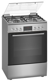 Газовая плита с электрической духовкой Bosch Series 4 HXN390D50L