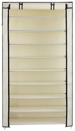Songmics Shoe Rack Beige 88x28x160cm