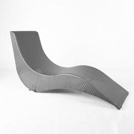 Home4you Stella Deck Chair Grey