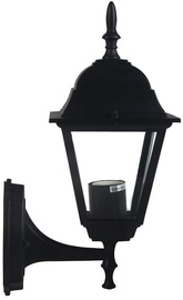 Verners Outdoor Lantern 60W E27 Black Matt