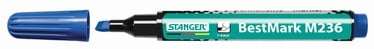 Stanger M236 BestMark Permanent Marker 1-4mm 10pcs Blue 712005