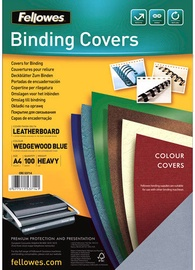 Fellowes Delta A4 FSC Binding Cover Leather Bright Blue