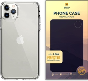 Mocco Original Clear Silicone Case For Apple iPhone 12/12Pro Transparent 2mm