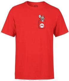 Nintendo T-Shirt Super Mario Mario Pocket Red L