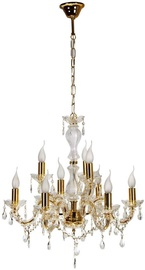 Candellux Maria Teresa Hanging Ceiling Lamp 9x40W E14 Gold