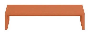 Black Red White Modai Shelf 56x15x32cm Coral