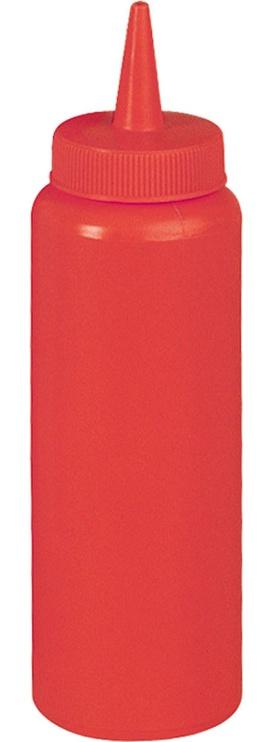 Stalgast Sauce Dispenser 0.35l Red