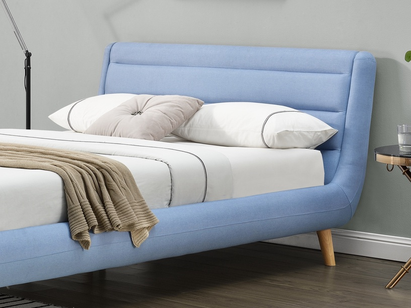 Voodi Halmar Elanda Light Blue, 140 x 200 cm