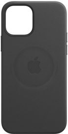 Apple MagSafe Leather Back Case For Apple iPhone 12 Pro Max Black