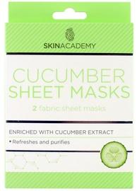Skin Academy Sheet Cucumber Masks 2pcs