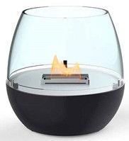 TenderFlame Table Burner Tulip FlatWick 14cm Black