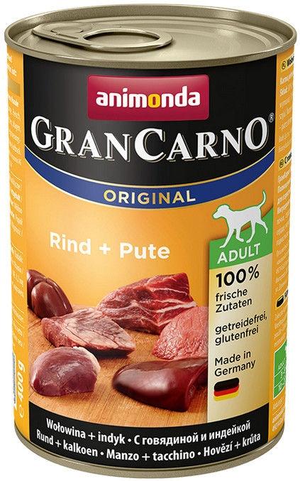 Animonda GranCarno Beef/Turkey 400g