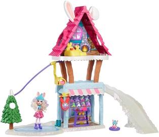 Nukumaja Mattel Enchantimals Hoppin Ski Chalet GJX50