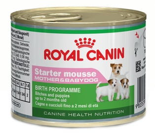 Royal Canin CHN Starter Mousse Mother & Babydog 195g
