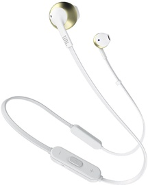 Kõrvaklapid JBL Tune T205BT Gold, juhtmevabad