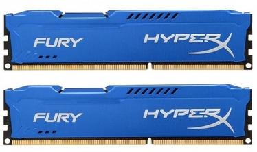 Operatiivmälu (RAM) Kingston HyperX Fury Blue Series HX318C10FK2/16 DDR3 (RAM) 16 GB