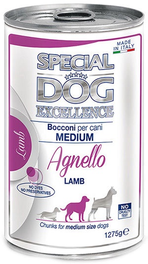 Monge Special Dog Excellence Medium Adult Lamb 1275g
