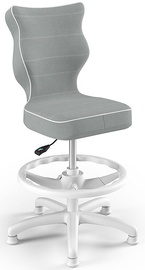 Entelo Petit Black HC+F Size 4 Children Chair JS03 White/Grey