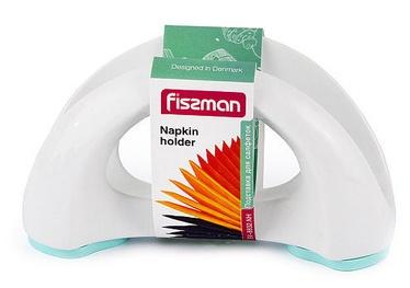 Fissman Napkin Holder 16x8cm Aquamarin