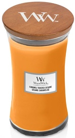 WoodWick Caramel Toasted Sesame Candle 609.5g Orange