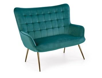 Halmar Castel2 XL Sofa Dark Green/Gold