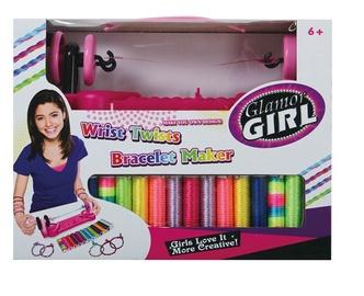 Käevõrude valmistamise komplekt Glamor Girl Wrist Twists 51421924