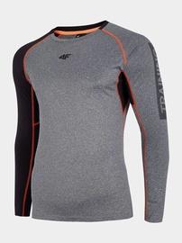 4F Men's Training Long Sleeve Top Grey L H4L20-TSMLF001-24M