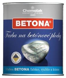 Chemolak Betona Paint For Concrete Surfaces White 0.75l