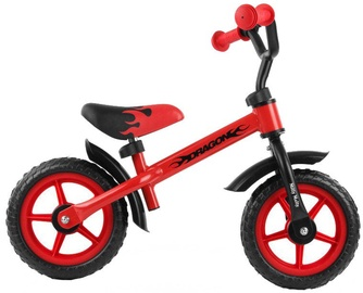 Lastejalgratas Milly Mally DRAGON Balance Bike Red 4850