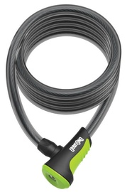 OnGuard Neon Coil Cable Lock Green