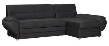 Угловой диван Bodzio Livonia Fabric Dark Gray, правый, 248 x 155 x 89 см