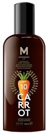 Солнцезащитное масло Mediterraneo Sun Carrot Suntan Oil Dark Tanning SPF10, 100 мл