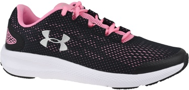 Under Armour Grade School Charged Pursuit 2 3022860-002 Black/Pink 35.5