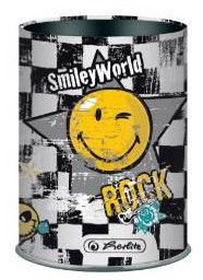 Herlitz Metal Pencil Cup Smiley 11302148