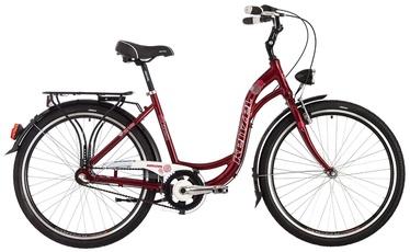 """Jalgratas Kenzel, punane, 18"""", 26"""""""
