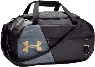 Under Armour Undeniable 4.0 Small Duffle 1342656-002 Black/Grey