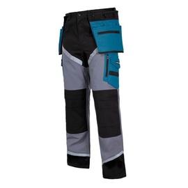 Lahti Pro L40502 Protective Trousers Blue/Grey XL