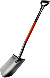 Ega Premium Sharp Shovel with Metal Shaft