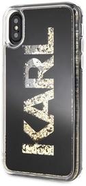 Karl Lagerfeld Karl Logo Back Case For Apple iPhone X/XS Transparent