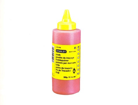 Stanley 1-47-404 Chalk Refill Red 115g