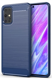 TakeMe Carbon Effect Back Case For Samsung Galaxy S20 Ultra Blue