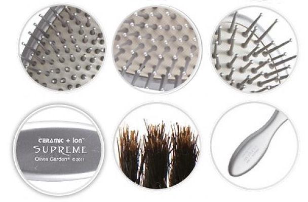 Olivia Garden Ceramic + Ion Supreme Brush