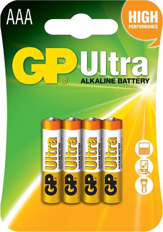PATAREI AAA GP ALKALINE 1,5V LR3 4TK