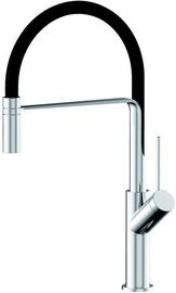 Vento Cucina WPF569081C Kitchen Faucet Chrome/Black
